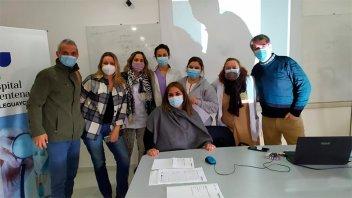 Promueven el nuevo sistema de videoconsultas en el hospital de Gualeguaychú