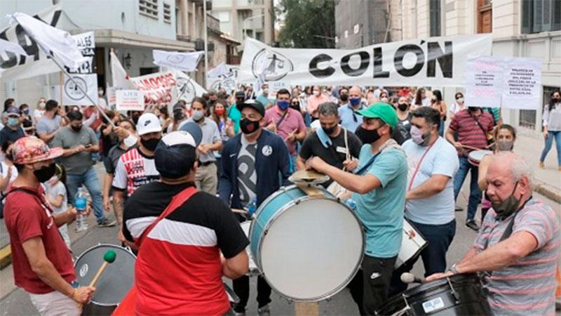 Marcha de AJER por el centro cívico