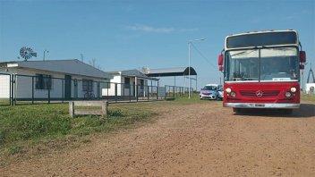 El Becario realizó inspecciones en transporte escolar del departamento Uruguay