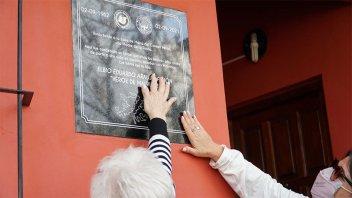 En Colón se rindió homenaje a un héroe caído en Malvinas y a su madre
