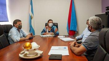 Repasan y planifican obras de conservación en el departamento San Salvador