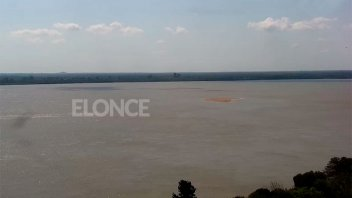 """Repunte del río Paraná: anticipan que """"es temporario"""" y explican cuánto duraría"""