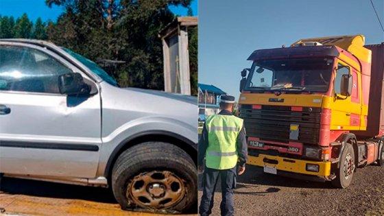 Fatal accidente en Autovía Artigas: detuvieron a camionero que se había fugado