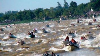 Bajante del Paraná: Suspenden tradicional concurso de pesca de surubí