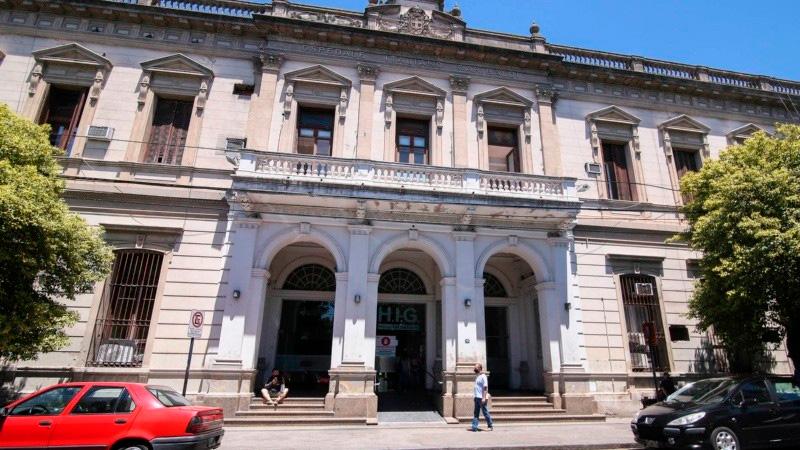 Oscar realiza su rehabilitación en el Hospital Italiano de Rosario