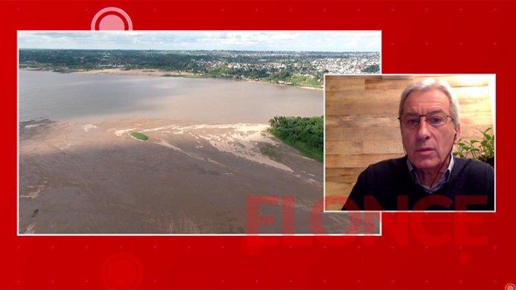 Prevén que la bajante extraordinaria del río Paraná se extienda durante 2022