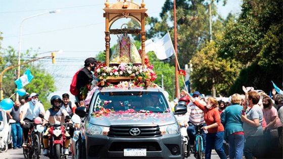 Día de la Virgen del Rosario: la Patrona recorrerá nuevamente las calles