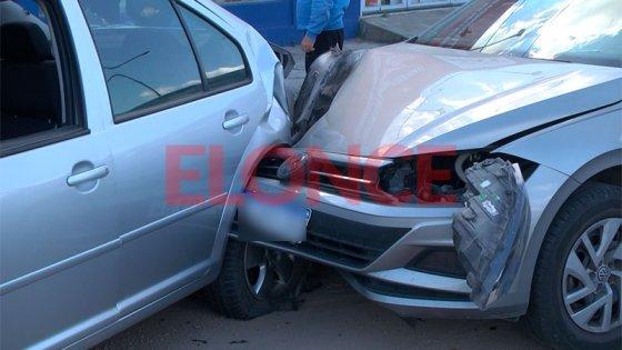 Sufrió una falla mecánica y ocasionó un múltiple choque en avenida Ramírez