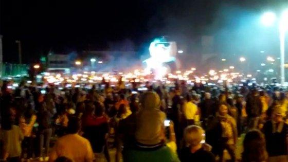 Video: estudiantes de San José realizaron la tradicional quema del muñeco
