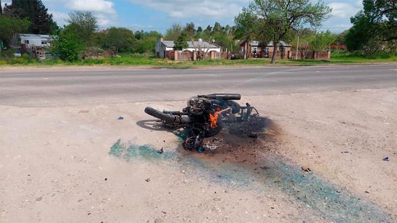 Accidente en Colonia Avellaneda