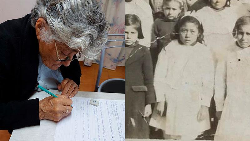 En su niñez tuvo que dejar la escuela para trabajar en el campo.