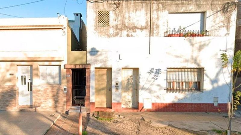 La vivienda donde ocurrió el hecho