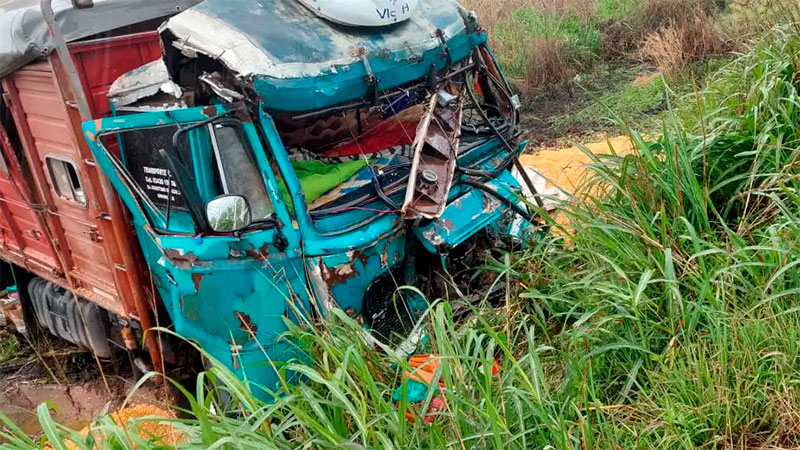 Entrerriano murió tras impresionante choque de tres camiones en ruta santafesina
