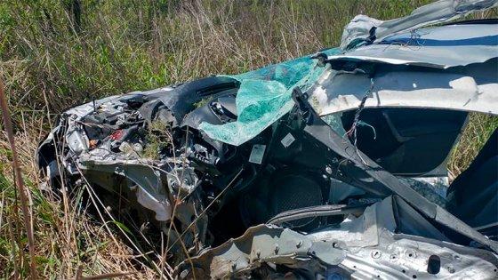 Identificaron a mujer fallecida en choque múltiple registrado sobre Ruta 39