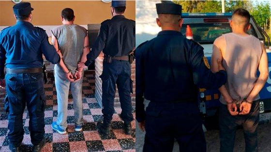 Disparos y persecución tras asalto a remisero: dos detenidos y armas incautadas