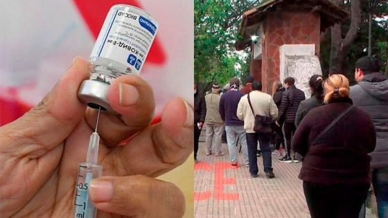 Aplicarán segundas dosis de Sputnik-V en jornada de vacunación sin turno