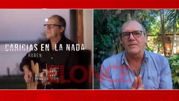 "Video: Rubén Giménez presentó ""Caricias en la nada"" en Elonce TV"