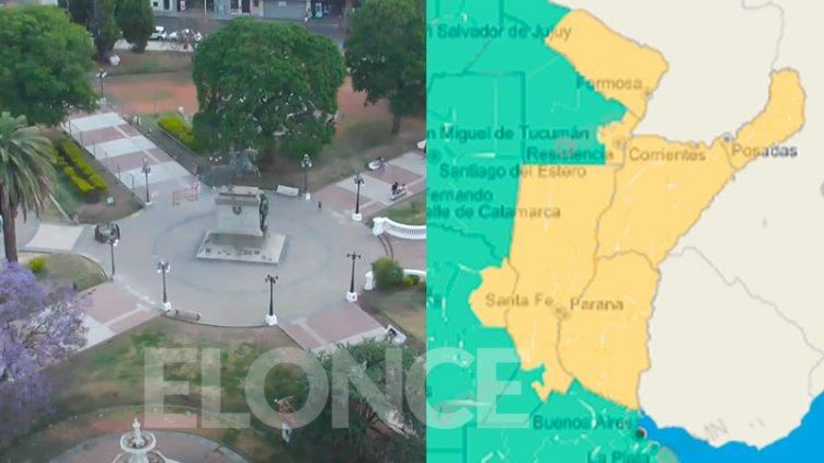Ampliaron alerta por tormentas a toda Entre Ríos y otras provincias