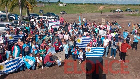 """""""Por una frontera sin PCR"""": exigieron la flexibilización del paso Colón-Paysandú"""