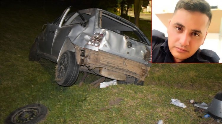 Falleció joven policía entrerriano que sufrió grave accidente de tránsito