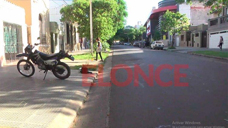 Un hombre de 81 años fue embestido por una moto al cruzar una calle en Paraná