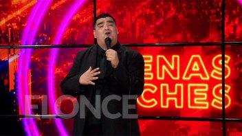La Nueva Luna del Chino en Elonce TV: el sucesor cantó los grandes éxitos