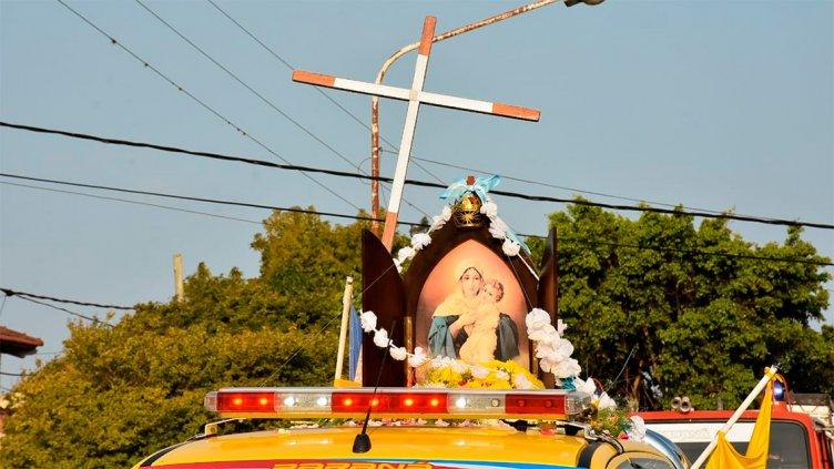 Peregrinación de Los Pueblos: Así recibieron a la Madre en Paraná