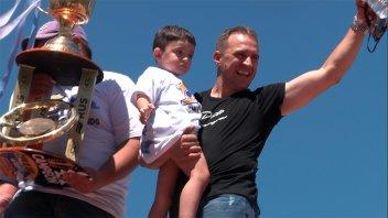 El monarca del TC festejó en Paraná: Werner agradeció a sus fanáticos