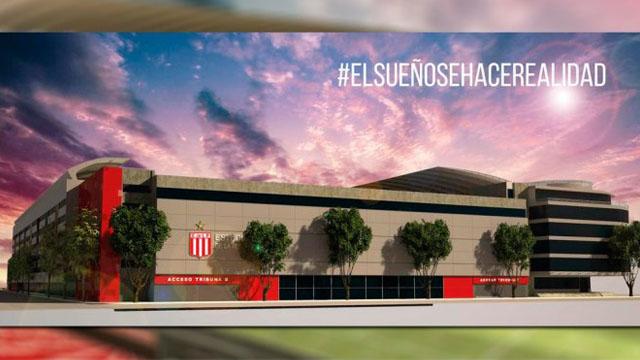 El proyecto para el nuevo estadio ubicado en las calles 1 y 57 de La Plata.