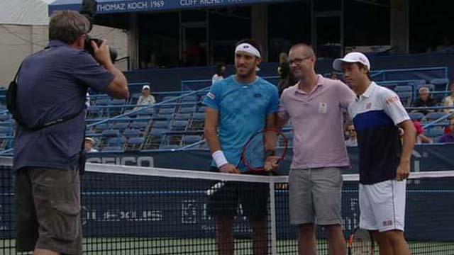 Mayer quedó 0-3 en el historial con Nishikori, quinto en el ranking mundial.
