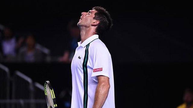 Delbo se fue en tercera ronda consiguiendo su mejor actuación en un Gran Slam.