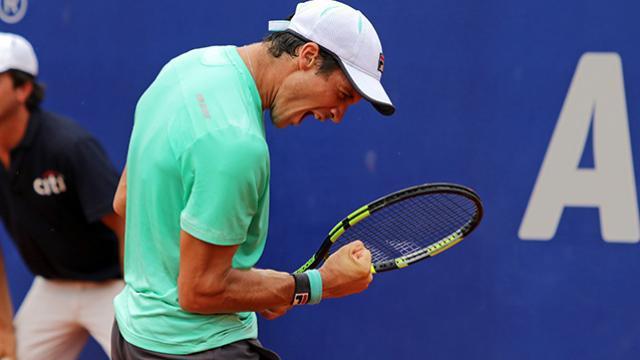 Facu se clasificó por primera vez en su carrera a Cuartos en un torneo ATP.