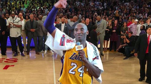Proponen cambiar el logo de la NBA para homenajear a Kobe Bryant