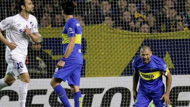 Nacional se había puesto en ventaaja con gol en contra del Cata Díaz.