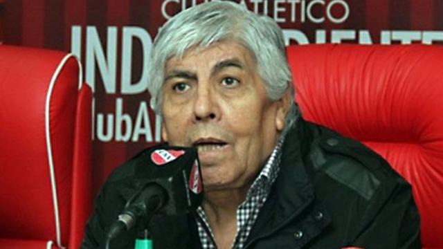 El máximo dirigente de Independiente quiere a Pekerman.