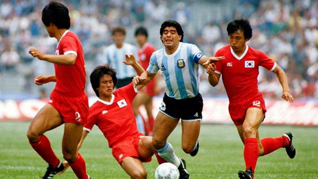Se cumplen 30 años del debut de la selección Argentina en México 86.