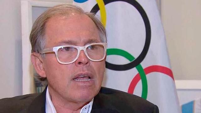 El presidente del Comité Olímpico Argentino y su mensaje a los deportistas.