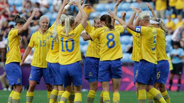 Suecia jugará el partido de apertura de Río 2016.