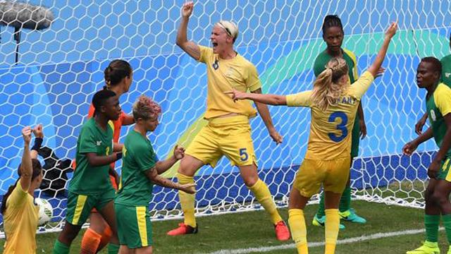 Los JJ.OO. arrancaron con la victoria de las Suecas ante Sudáfrica en el fútbol.