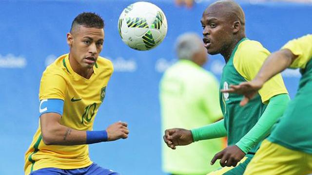 El equipo liderado por Neymar empató en cero ante el conjunto africano.