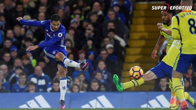 Chelsea logró una gran victoria ante los Toffees y quedó como puntero.
