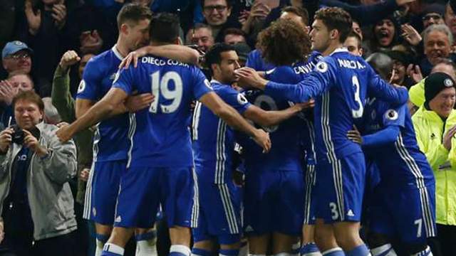Los Blues tenían la obligación de ganar para seguir arriba y cumplieron.