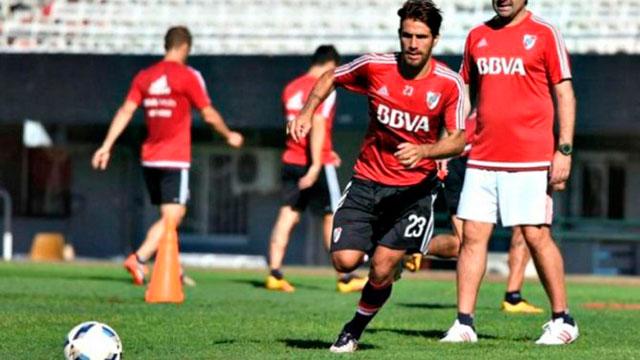 Ponzio es duda para el duelo con Central por Copa Argentina.