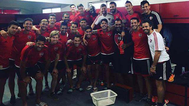 La imagen que Nacho Scocco subió en su cuenta personal de Twitter.