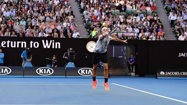 Con 35 años, el Gran Roger irá por su quinto título en el Australian Open.