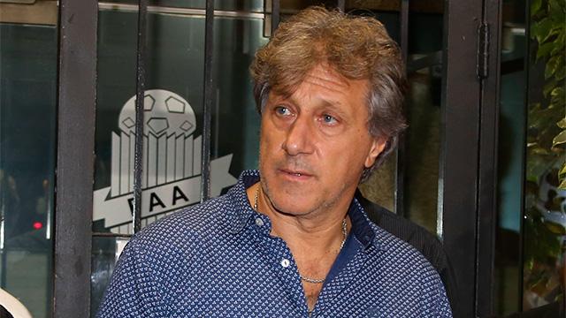 Sergio Marchi le comunicóa los jugadores de Boca el apoyo del gremio.