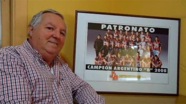 El presidente de Patronato, Miguel Hollman, internado por coronavirus