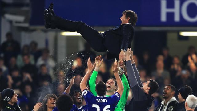 El conjunto de Conte alcanzó los 90 puntos en la Premier League.