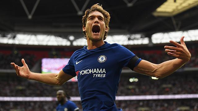 Com estos tres puntos, Chelsea quedó a tres de líder Manchester United.