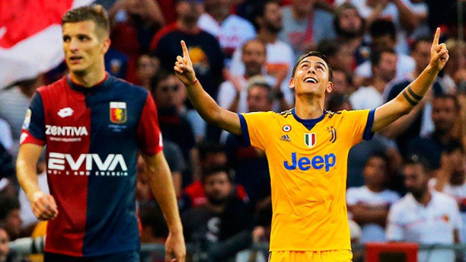 Juventus festejó con un tres goles de Paulo Dybala.